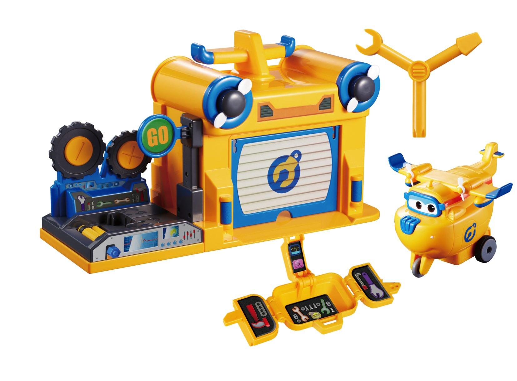 Super Wings - Donnie's Workshop Playset