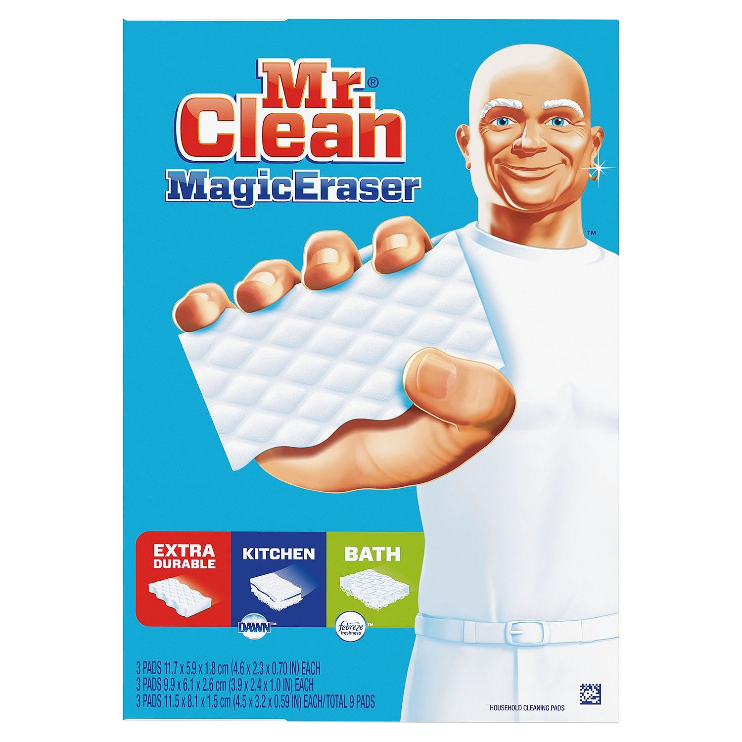 Mr. Clean Magic Eraser Variety Tub (9) by Mr. Clean (Image #1)
