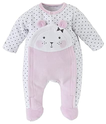 Azúcar de cebada – Sleepwear – femenino – 1 – Pijama Bebe Niña rosa Rose Talla