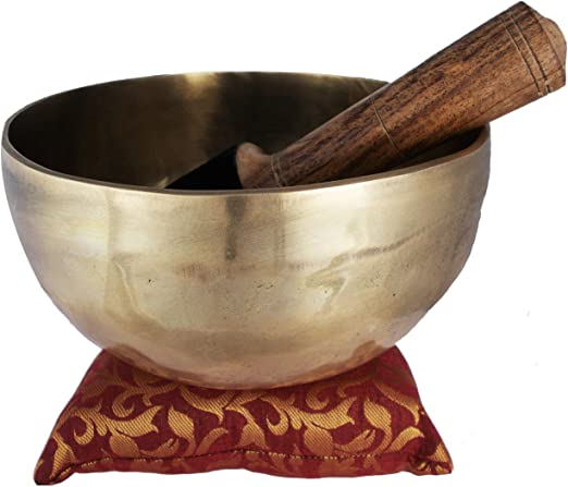 "Tibetan Hand Beaten Singing Bowl 5/"" Nepal"
