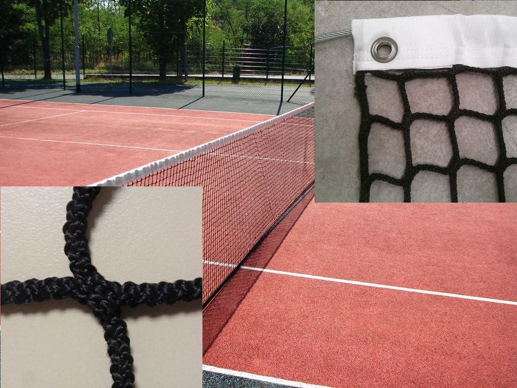 Red Tenis Premium. Polipropileno 3 mm Ø sin Nudos. Calidad Profesional. Reglamentaria
