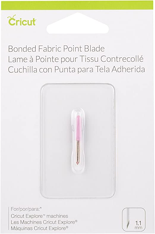 Replacement for Cricut Bonded Fabric Point Blade 3 Pack ! Model # 2003916