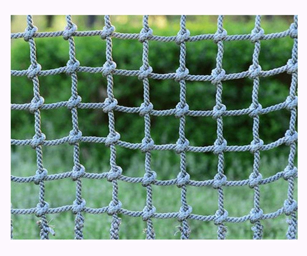 Net Climbing Wall,Nylon Climbing Kids Climb Net Rope CargoNetting Swingset Large for Kids Adult Rock Playground Tree Climbing Net Outdoor Nets for Adults Mesh Indoor Giant Heavy Duty by AEINNE