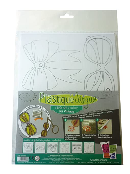 Kit plástico Vintage - 6 llavero Vintage: Amazon.es: Hogar