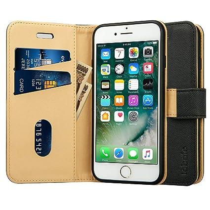Amazon | Labato iphone8 ケース iphone7ケース 手帳型 アイフォン7 ...