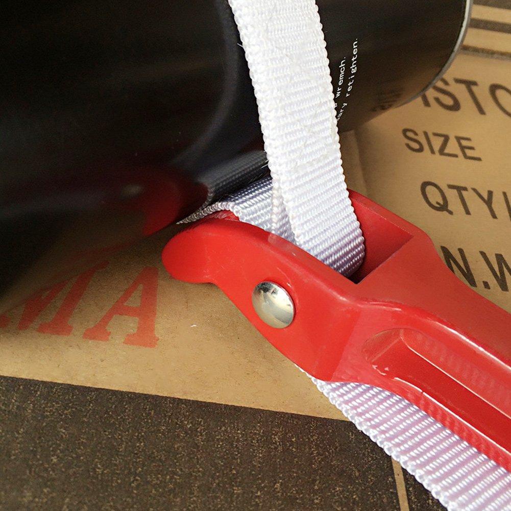 Cl/é /à sangle standard 30,5 cm r/églable Cl/é /à poign/ée souple pour enlever le filtre /à huile 82 30cm Red