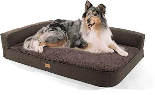 Brunolie-Odin-Hundesofa-mit-Abnehmbarer-Lehne-Größe