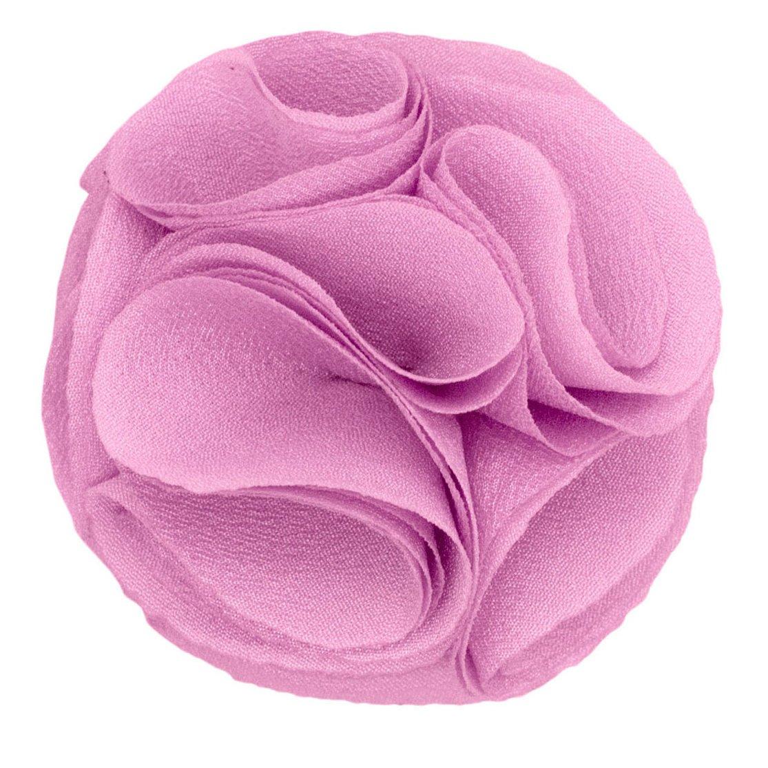 Mens Lapel Rose . Solid Lavender