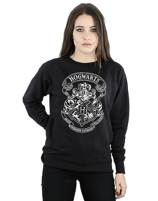 Harry Potter Mujer Hogwarts Crest Camisa De Entrenamiento: Amazon.es: Ropa y accesorios