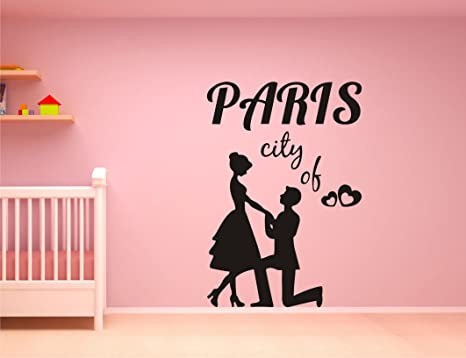 Buy Lovely Couple Black Wall Sticker And Wallpaper Size 59 86