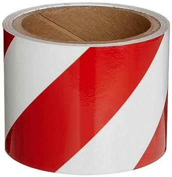 Warning Tape//makierungsband Red//White 33m//5cm