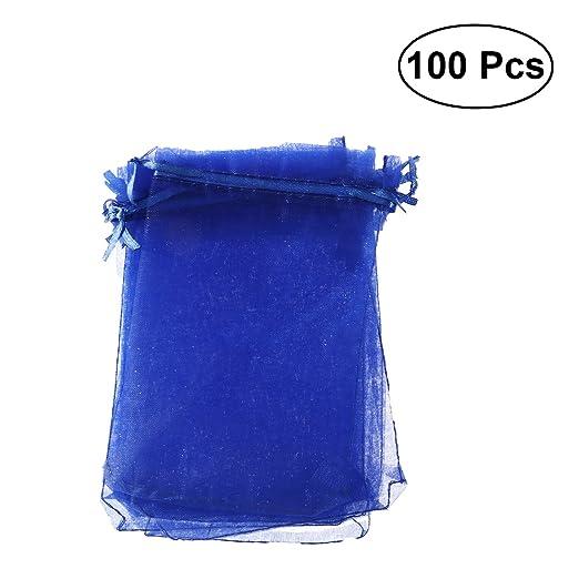 SUPVOX 100 Unids Bolsas de Caramelo Con Cordón Bolsas ...