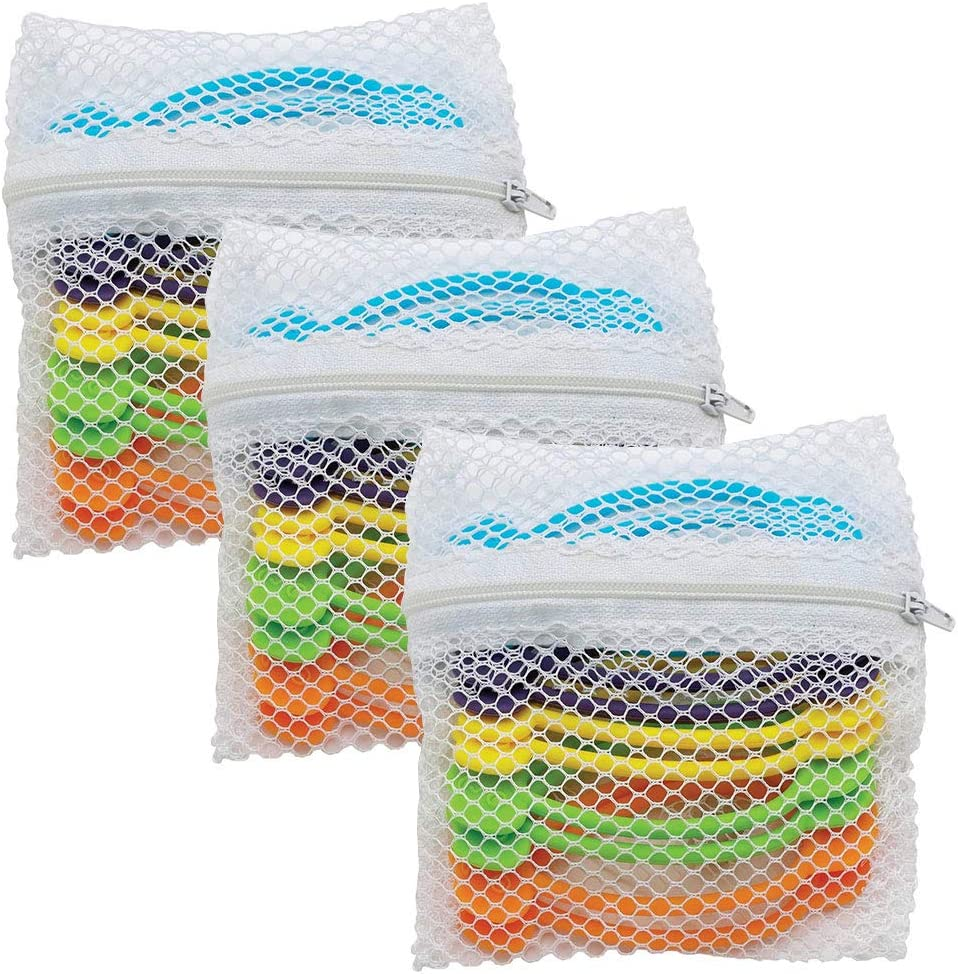 The World's Greatest Stretch N' Twist Silicone Bag Ties, 3-Pack (30 Ties in Total)