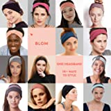 BLOM Original Multi Style Headband. for Women Yoga