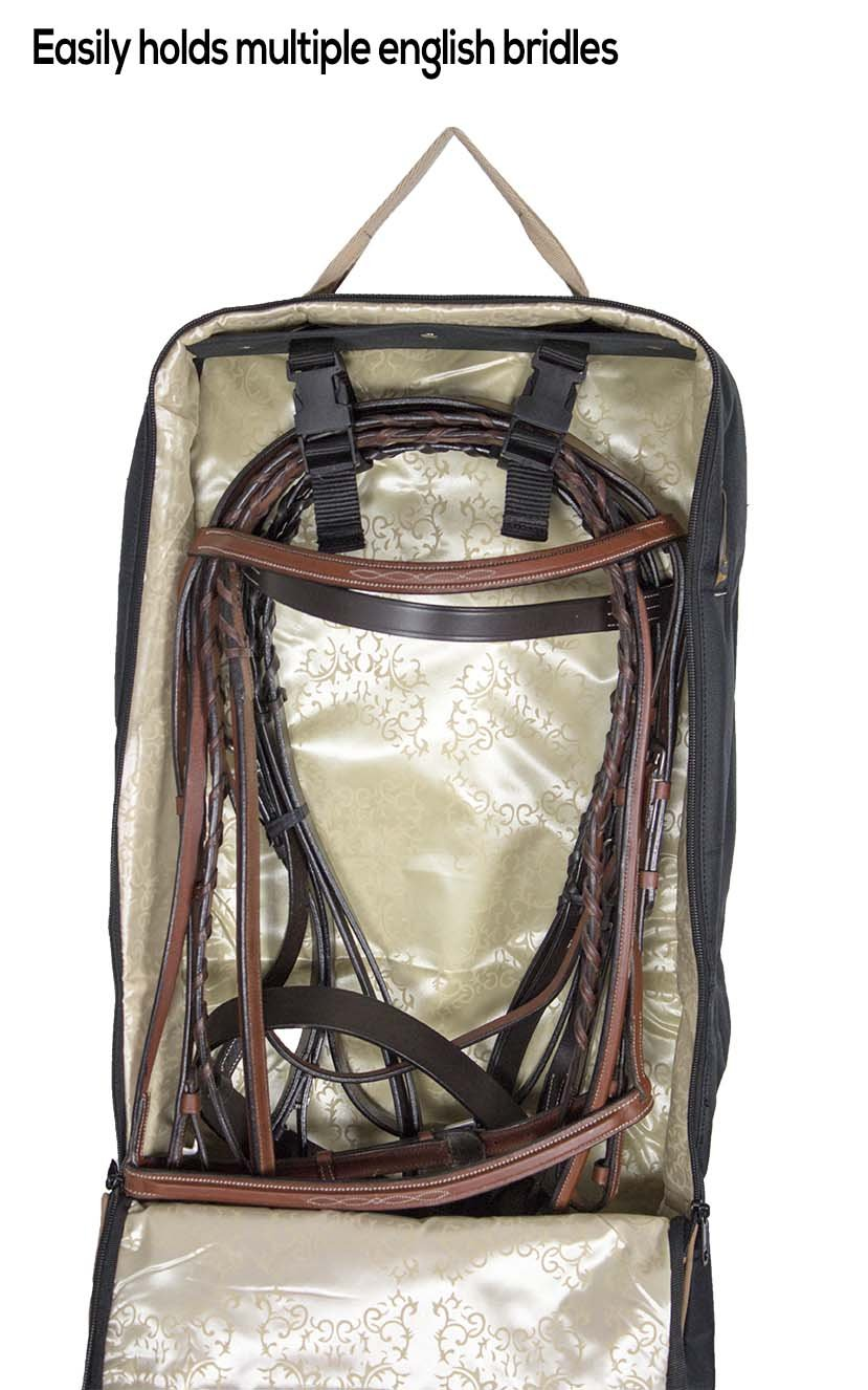 Paris Tack Front Open 3 Layers Padded Bridle Halter Horse Tack Carry Bag by Paris Tack