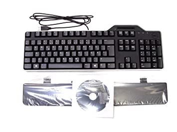 Genuine Original DELL USB Keyboard KB813 with Smart Card SmartCard