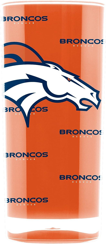 NFL Denver Broncos 16oz Insulated Acrylic Square Tumbler