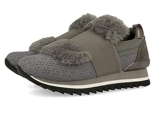 Gioseppo 31001, Zapatillas para Mujer, Gris (Grey), 36 EU