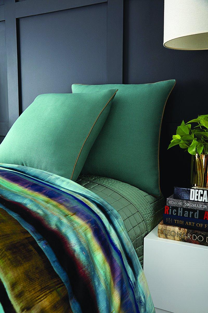Vince Camuto Pillow, Euro Sham 26'' x 26'', Lille Decorative Pillow