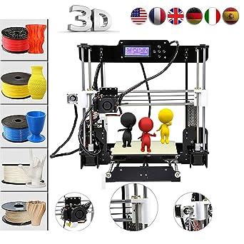 Abcs Printing Impresora 3D A8 Acrilico Prusa I3 Pro B Kit ...