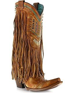 68bab05b455 Amazon.com | ARIAT Women's Brisco Fringe Western Boot | Shoes