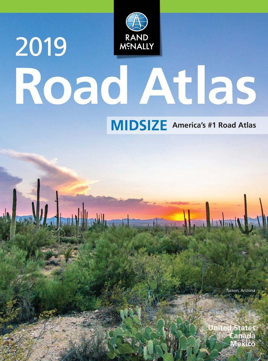 Rand Mcnally 2019 Road Atlas Midsize (Rand McNally Road Atlas Midsize) pdf