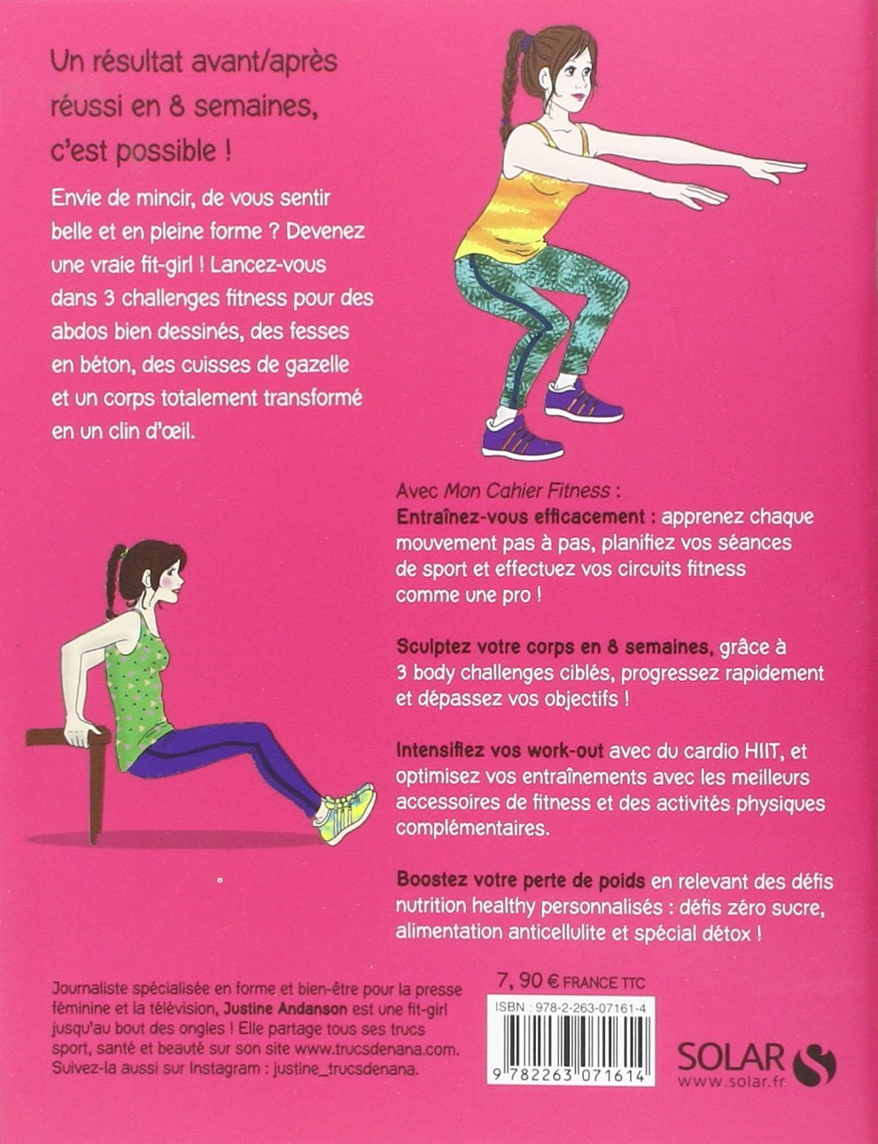 Amazon.fr - Mon cahier Fitness - Justine ANDANSON - Livres 9f29a3c00f2