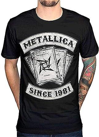Metallica Dealer Desde 1981 - Camiseta para Hombre: Amazon.es: Ropa y accesorios