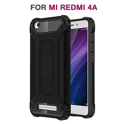 Chevron Back Cover Case for Mi RedMi 4A [Color   Metallic Black] Mobile Phone Cases   Covers