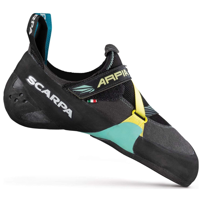 SCARPA Arpia Climbing Shoe - Women's Black/Aqua 35.5 by SCARPA
