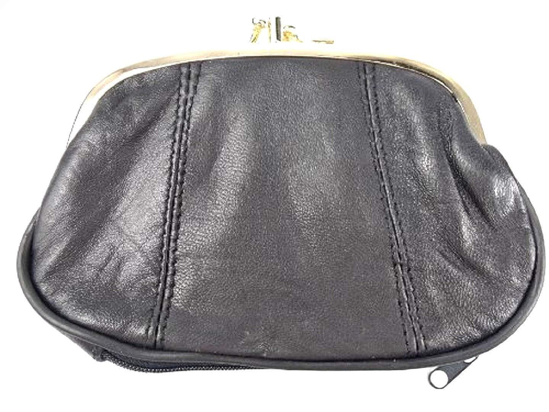 f3f0a2f560373 Emporium Leather Damen Leder Clipverschluss Portemonnaie - Rot  Amazon.de   Bekleidung