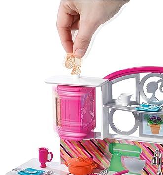 Juguete Barbie Cocina De Quemadores De Mesa Para Cocina De Lujo Y