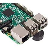 SunFounder USB 2.0 Mini Microphone for Raspberry Pi 4 Model B, Module 3B+, 3B 2 Module B & RPi 1 Model B+/B Laptop Desktop PCs Skype VOIP Voice Recognition Software