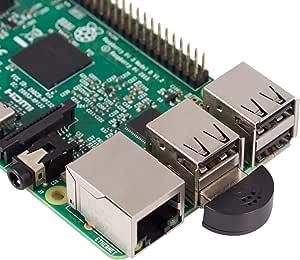 SunFounder USB 2.0 Mini Microphone for Raspberry Pi 4 Model B, 3B+, 3B, 2 Model B & RPi 1 Model B+/B Laptop Desktop PCs Skype VOIP Voice Recognition Software