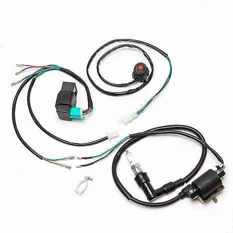 amazon com wphmoto cdi ignition coil spark plug wire harness wiring rh amazon com Spark Plug Gauge Spark Plug Gauge