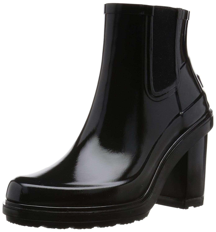 Hunter Womens Original Refined High Heel Chelsea B01DDXQ3IS 10 B(M) US|Black