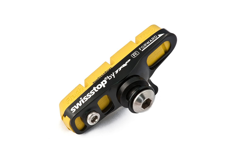 2/Paar Blau SwissStop Flash Pro BXP-Bremsbel/äge f/ür Fahrradbremsen