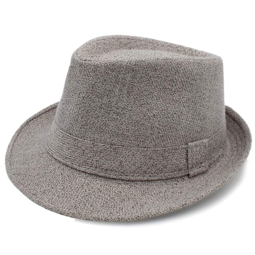 MUMUWU Womes Fedora Hat with Bowler Elegant Lady Winter Autumn Wide Brim Jazz Church Panama Sombrero Cap Felt Hat Great