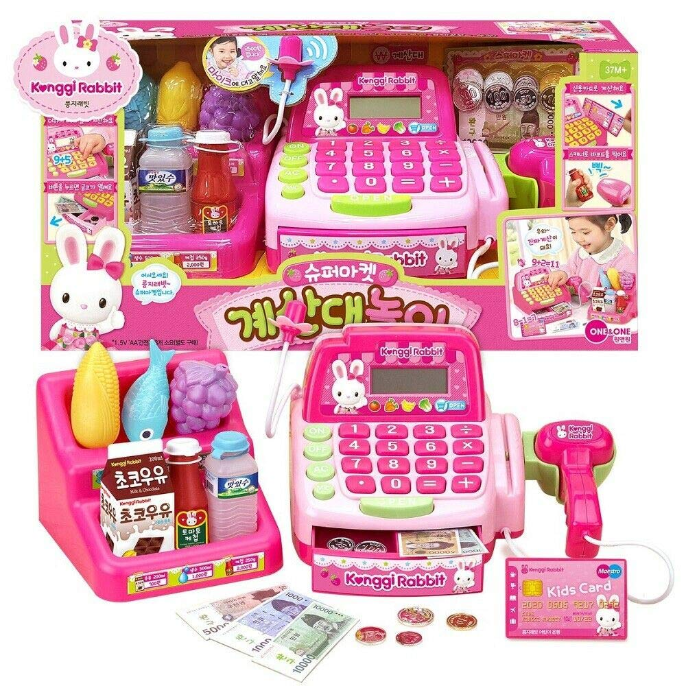 One & One Konggi Rabbit Supermarket Checkout Play Toy