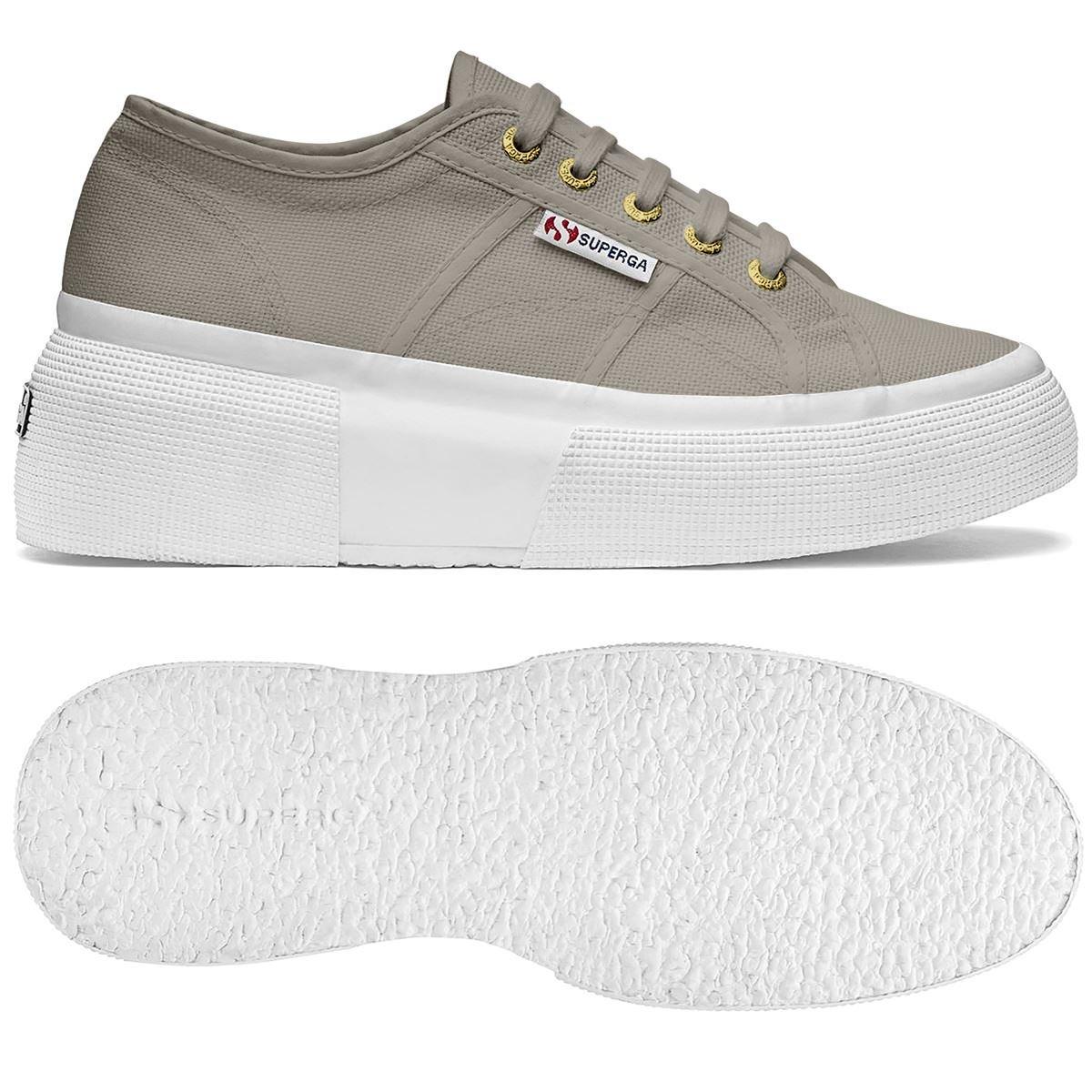 Superga Donna 2287-Cotw, Sneaker Donna Superga  Taupe 4011c2