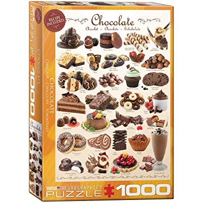 Eurographics Chocolate 1000-Piece Puzzle: Toys & Games