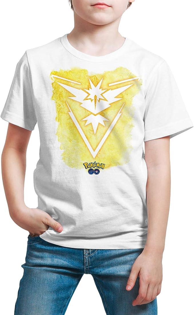 Camiseta Niño - Unisex Pokémon, Team Instinct: Amazon.es: Ropa y accesorios