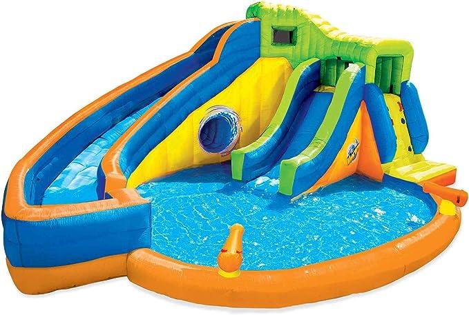 BANZAI Pipeline Twist Kids Piscina de Agua Inflable al Aire Libre ...