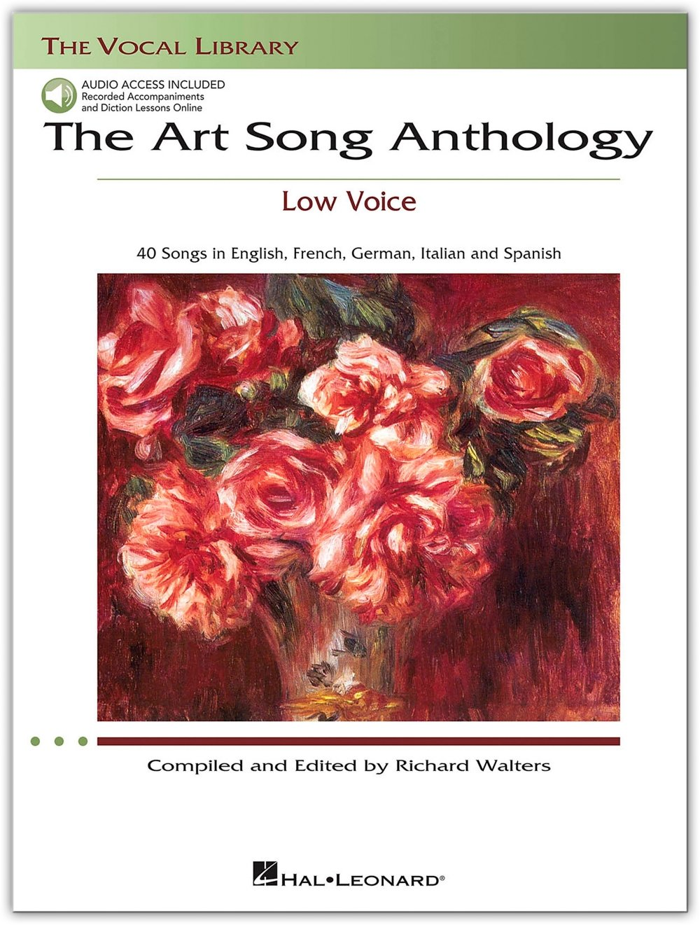 Amazon.com: The Art Song Anthology - Low Voice Songbook and 3 CD Package:  Hal Leonard: Musical Instruments