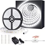 Ustellar 40ft LED Strip Lights, 720 LEDs Dimmable Hand Wave Activated Control Light Strip 24V LED Ribbon Light, Under…