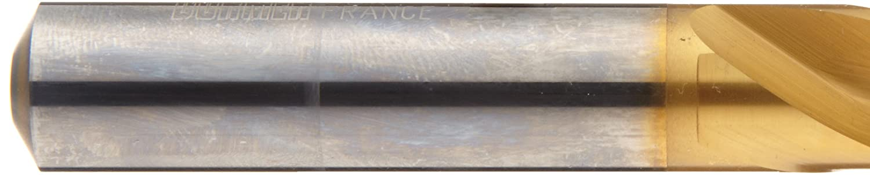 Pack of 1 21//64 Cutting Diameter Pack of 1 Dormer R520 Solid Carbide Short Length Drill Bit Round Shank 21//64 Cutting Diameter Precision Dormer TiN Finish 130 Degree Split Point