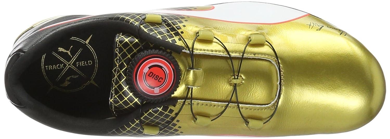 e9a2a5f1dff PUMA Evospeed Disc Usain Tricks Sprint Spikes - AW16-6 - Black  Amazon.ca   Shoes   Handbags