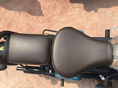 Outstanding Saharaseats Gunmetal And Signals Pegasus Coffee Brown Seat Cover For Royal Enfield Classic 350 500 Gunmetal And Signals Pegasus Seat Cover Spiritservingveterans Wood Chair Design Ideas Spiritservingveteransorg