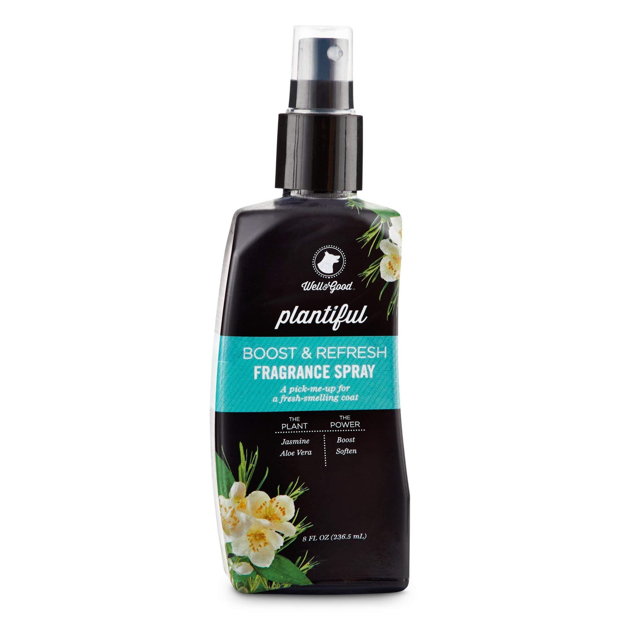 Well & Good Plantiful Boost & Refresh Jasmine Fragrance Dog Spray, 8 fl. oz, 8 FZ