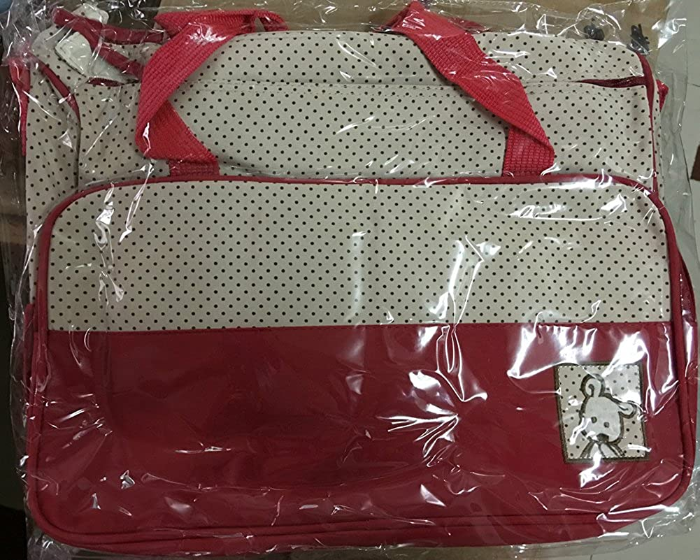 Gladiolus Wasserdichte Wickeltasche Windel Wickeltasche Schwangerschaft Multifunktionale Mama Handtasche Pflegetasche Set
